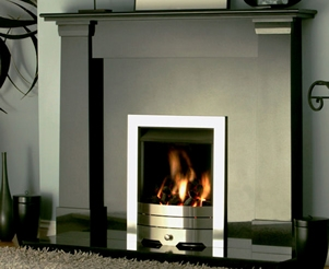 Black Granite Fireplaces