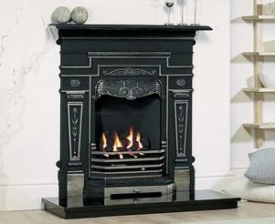 Cast Tec Combination Fireplaces