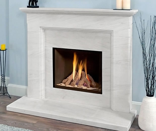 Deluxe Gas Fireplace Packages