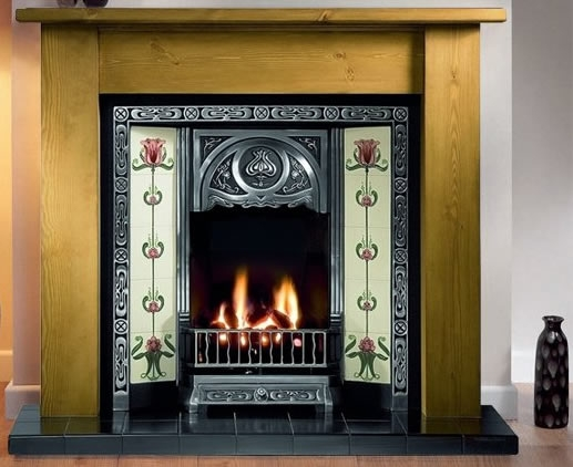 Wooden Fireplace Packages for Solid Fuel