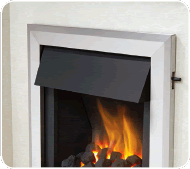 Be Modern Gas Fires Extra Canopy.