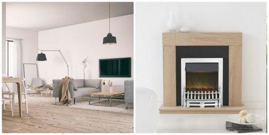 Modern Scandinavian Fireplace: 6 Contemporary Fireplace Design Ideas