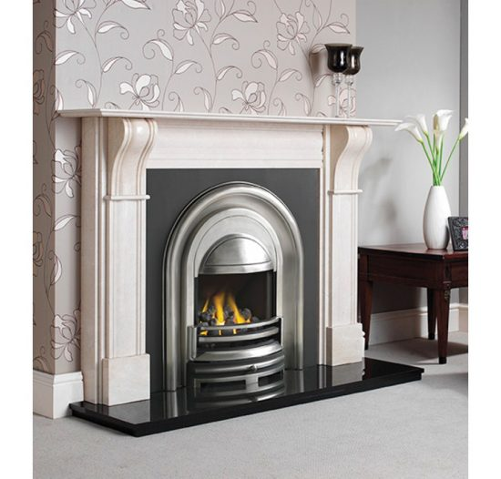CAST TEC DURHAM CREMA MARFIL FIRE SURROUND