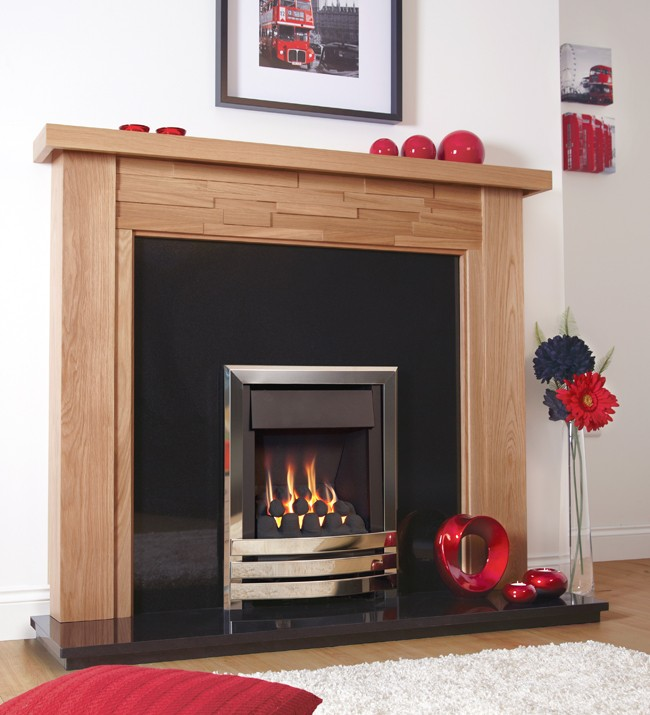 FLAVEL WINDSOR CONTEMPORARY PLUS HE GAS FIRE
