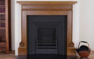 Carron wooden fireplace surround