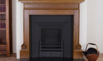 Carron wooden fireplace surround