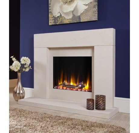 Celsi Ultiflame VR Rennes Fireplace Suite