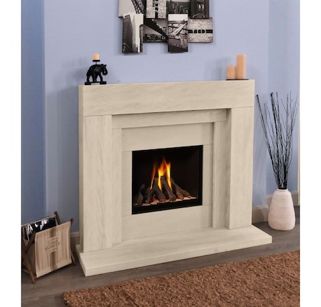 Stonehenge Deluxe Gas Fire Suite