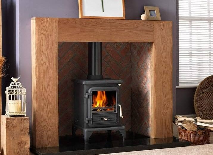 """PENMAN COLLECTION 51"""" ALBERO WOODEN FIREPLACE"""