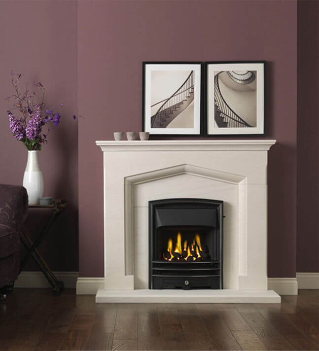 Gallery Collection Kendal Limestone Fireplace