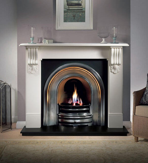 Gallery Collection Kingston Agean Limestone Fire Surround