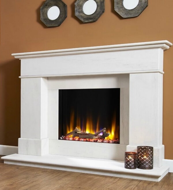 Celsi Ultiflame VR Avignon Electric Fireplace Suite