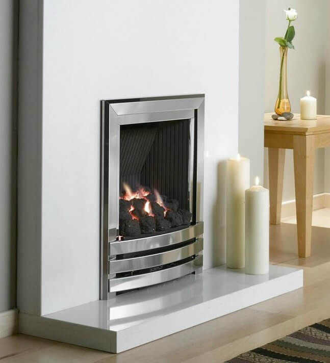 Flavel Linear Contemporary Powerflue Gas Fire