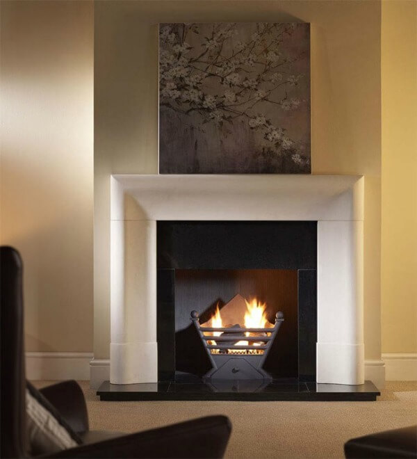 Gallery Collection Delection Agean Limestone Fire Surround