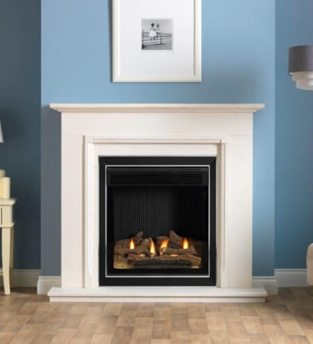 Burley Astute 4113 Hole In The Wall Flueless Gas Fire