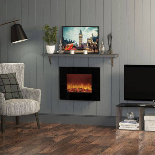 Be Modern Quattro Wall Mounted Electric Fire