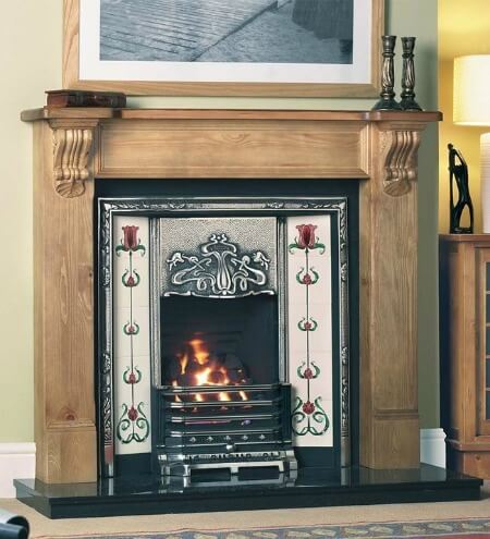 Cast Tec Balmoral Solid Wooden Fire Surround