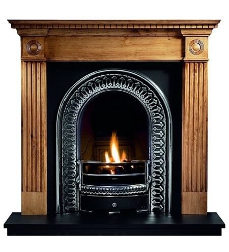 Gallery Roundel Wooden Fire Surround