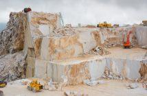 Carrara Marble Quarry in Italy