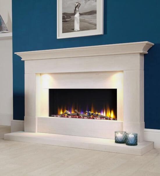Celsi Ultiflame VR Parada Elite Electric Fireplace Suite