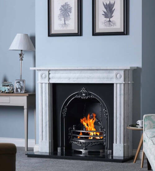 Gallery Collection Chiswick Cararra Marble Fire Surround