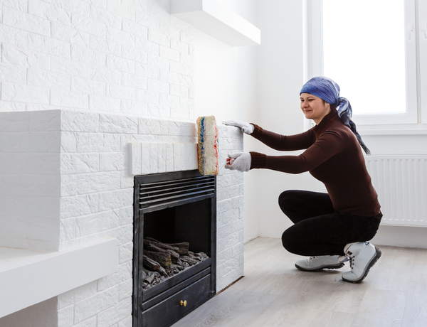 How To Paint A Fireplace Interior Design Diy Tips Direct Fireplaces