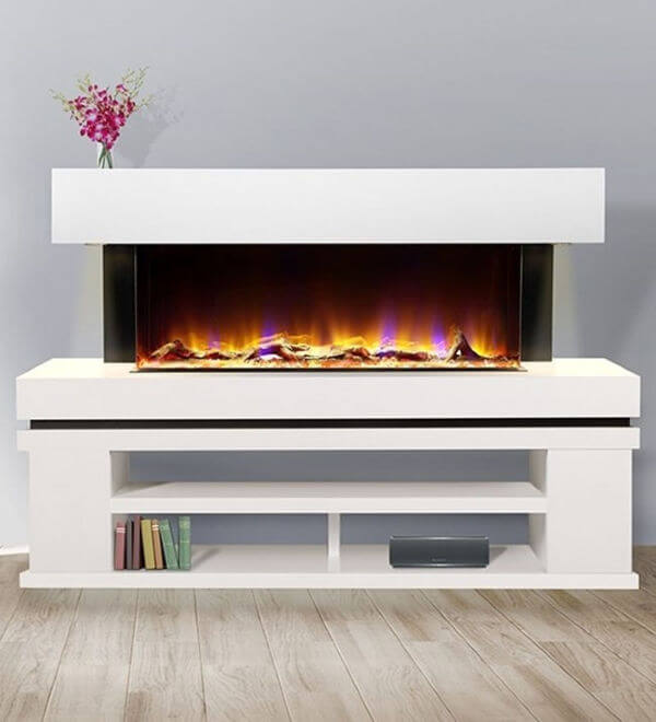 Celsi Electriflame VR Media 1100 Electric Fire Suite