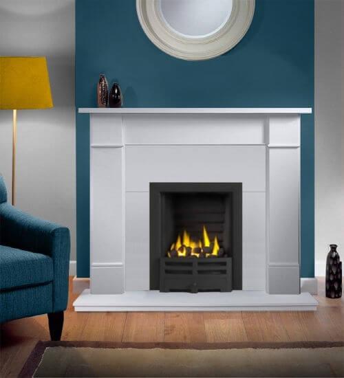 Brompton Agean Limestone Fireplace