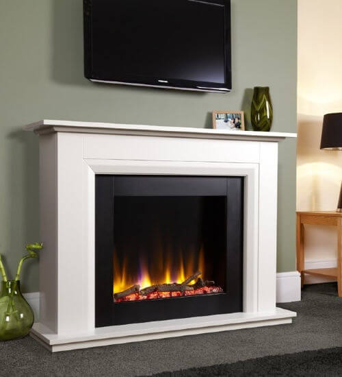Celsi Ultiflame VR Elara Electric Fireplace Suite