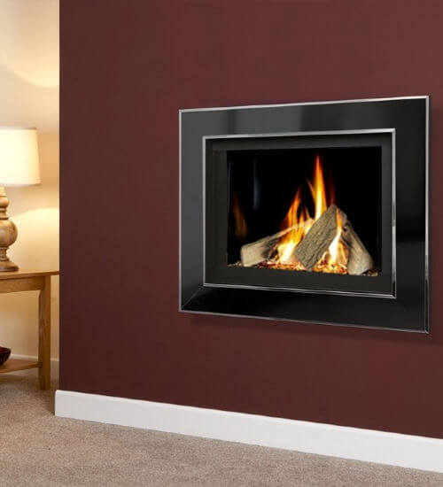 Celena HE High Efficiency Wall Mounted Gas Fire with Remote Control
