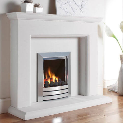 Kinder Camber Gas Fire with Remote Control