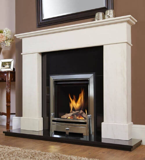 Verine Passion High Efficiency Gas Fire with Remote Control