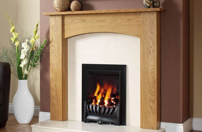 Be Modern Avantgarde Slimline Gas Fire