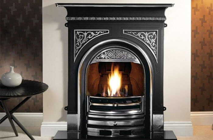 Gallery Collection Tregaron Cast Iron Combination Fireplace