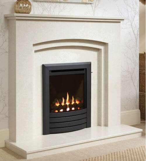 Be Modern Design Fascia Mid Depth High Efficiency Gas Fire