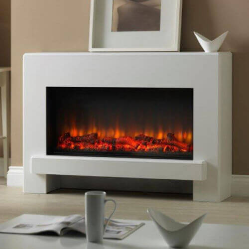 Suncrest Eggleston 45 Inch Electric Fireplace Suite