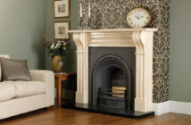 Cast Tec Durham Mocha Beige Fire Surround Feature