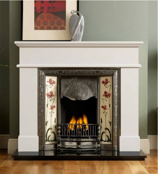 Gallery Collection Pisa Ivory Perla Micro Marble Surround