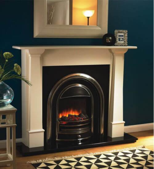 Flamerite Bronte Electric Fireplace Suite