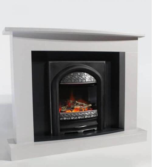 Pureglow Juliet XP10 Electric Fireplace Suite