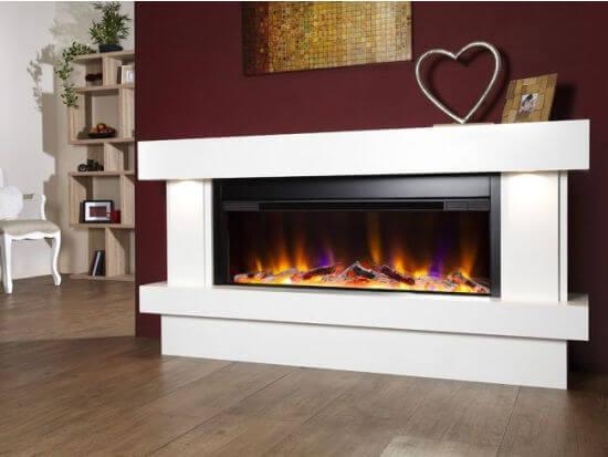 Celsi Electriflame VR Orbital Illumia Electric Fireplace Suite