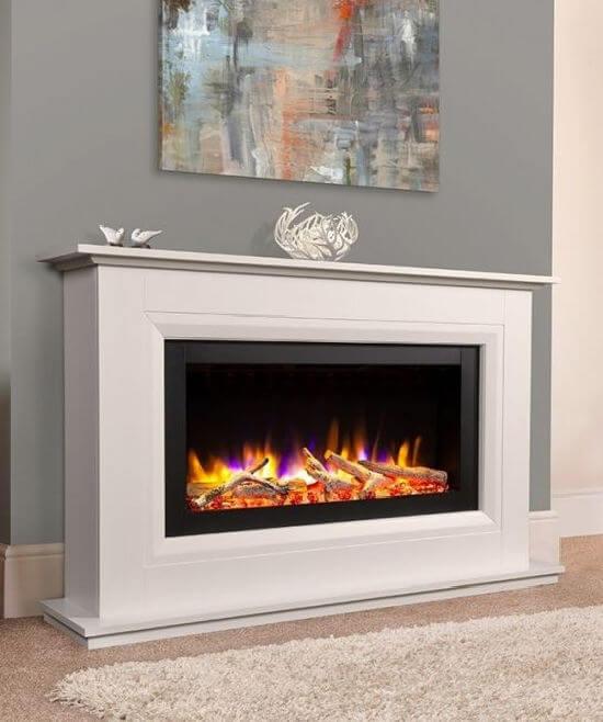 Celsi Ultiflame VR Vega Electric Fireplace Suite