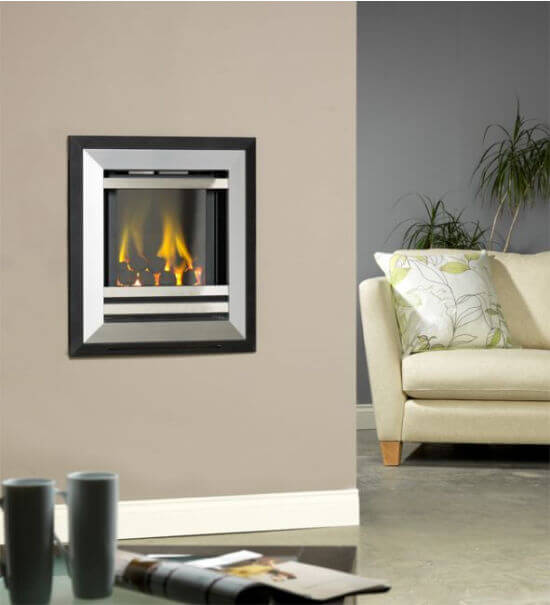 Flavel Diamond High Efficiency Hole In The Wall Gas Fire