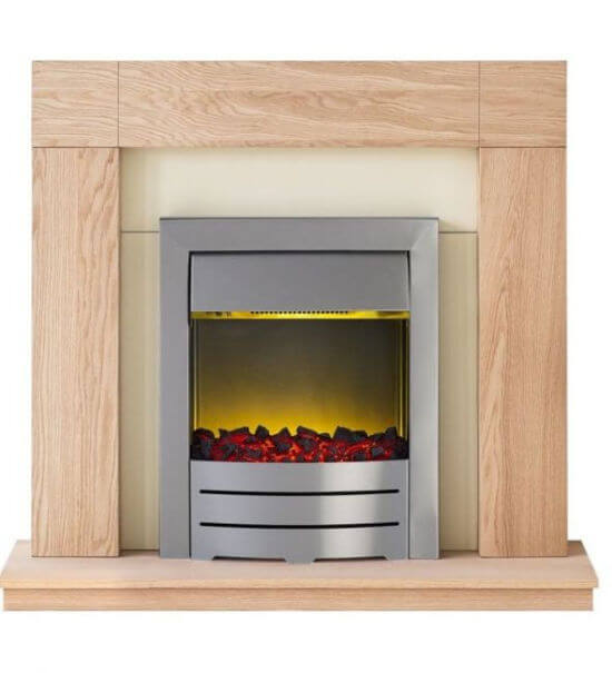Malmo Electric Fireplace Suite With Colorado Electric Fire