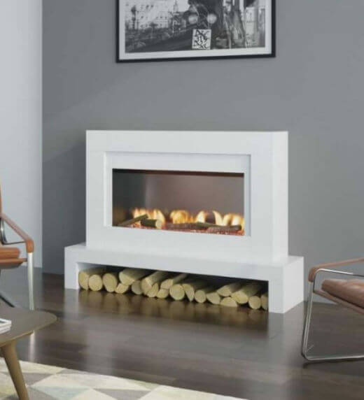 OER Emerson 33 Electric Fireplace Suite
