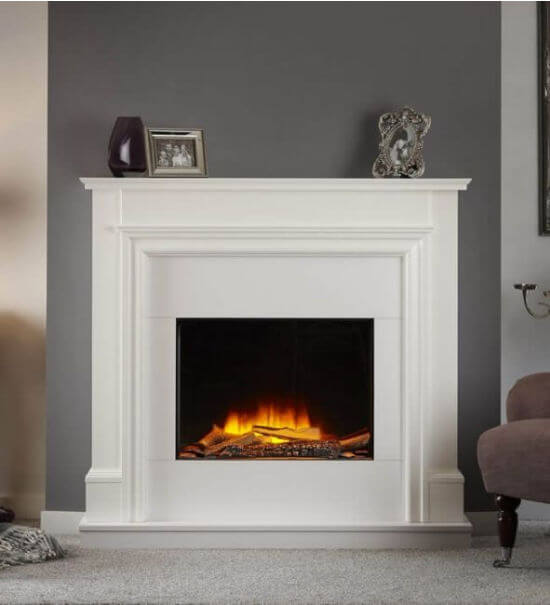 OER Monaco Electric Fireplace Suite