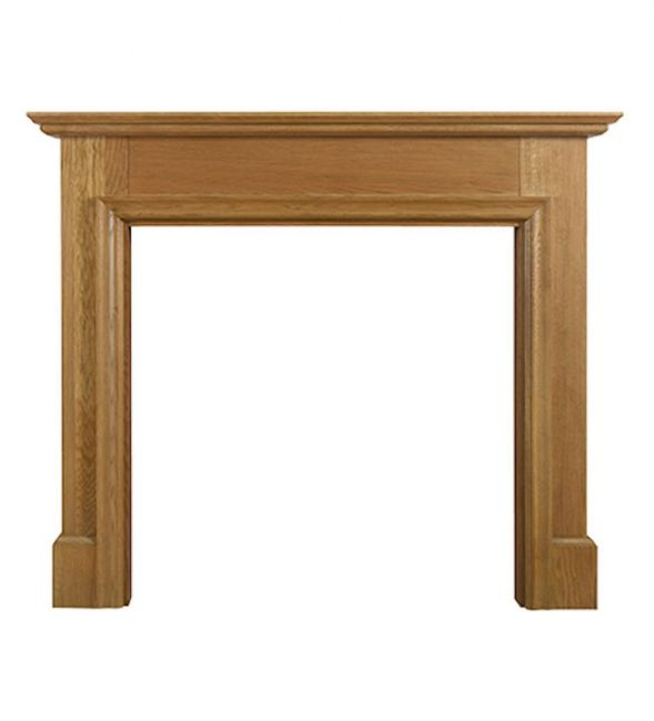 When making your fireplace larger you will need to think about what type of fireplace surround you want to install