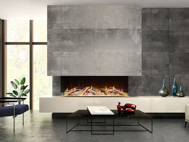Celsi Electriflame VR 100 Electric Fire for media walls