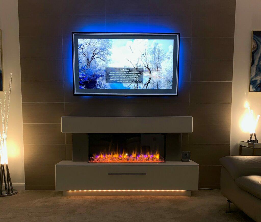 Katell Luminess Electric Fireplace