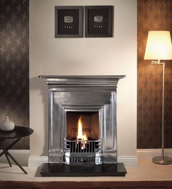 Gallery Collection Barcelona Cast Iron Combination Fireplace